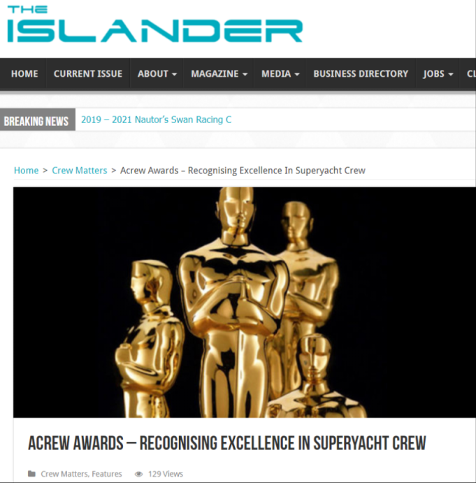 Crew Awards – Recognising Excellence In Superyacht Crew