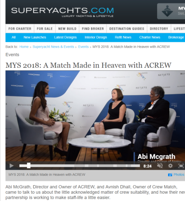 MYS 2018: A Match Made in Heaven with ACREW