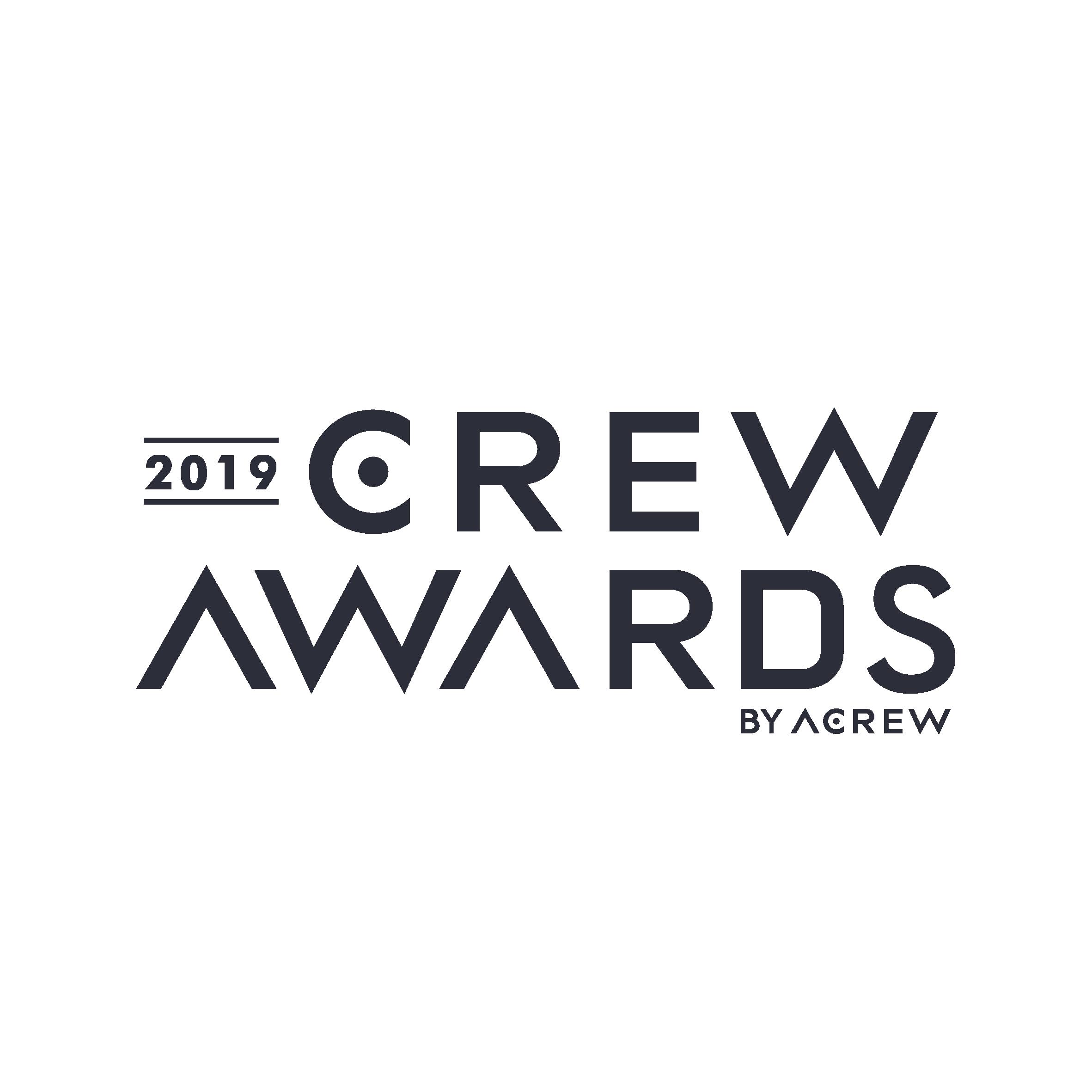 crew awards 2019 banner