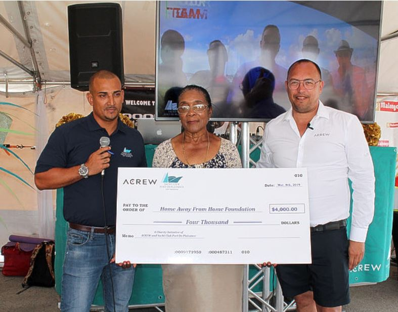 ACREW and partners donate 4,000 USD to Home Away from Home Foundation
