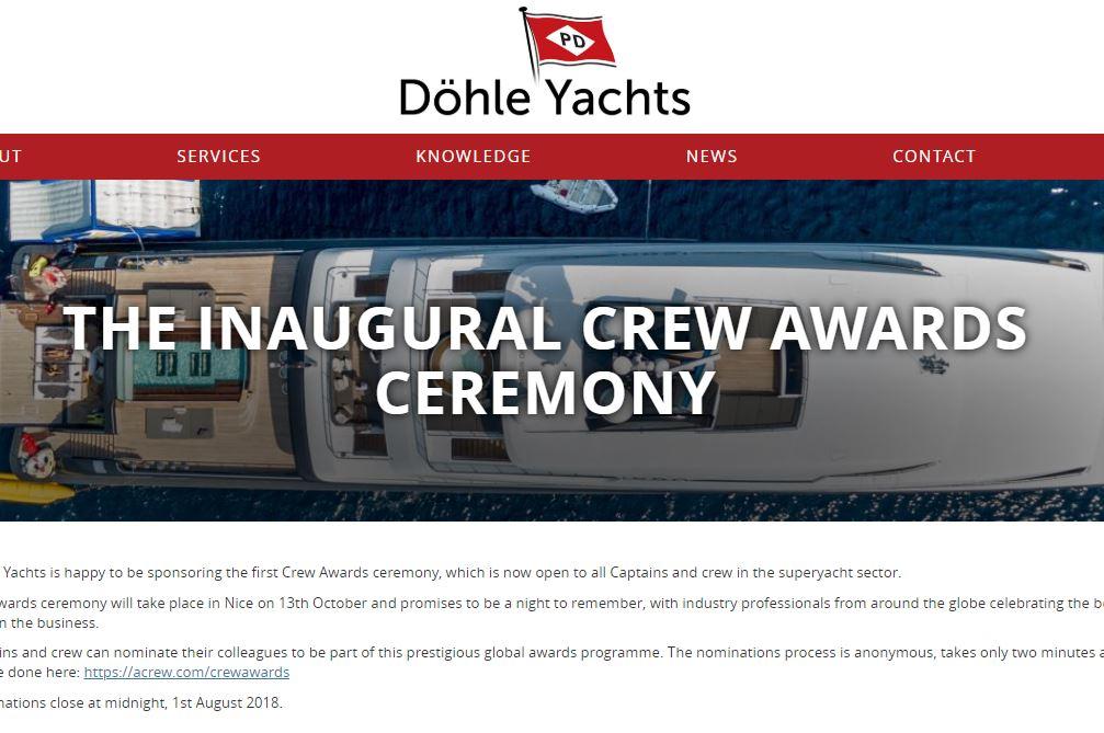 The Inaugural Crew Awards Ceremony