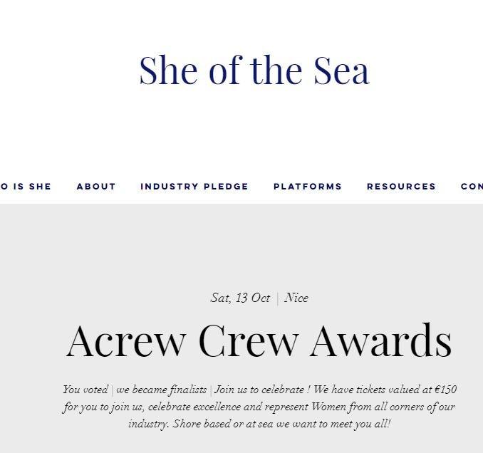 ACREW Crew Awards