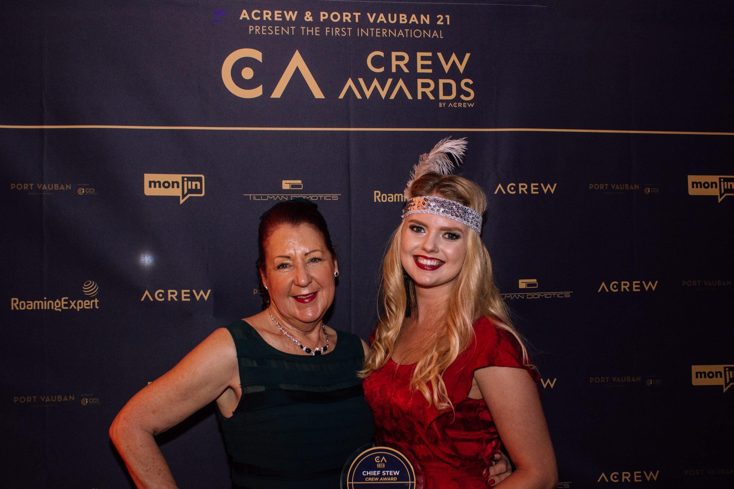 Last year's Chief Stew Crew Award winner Gemma Hulbert