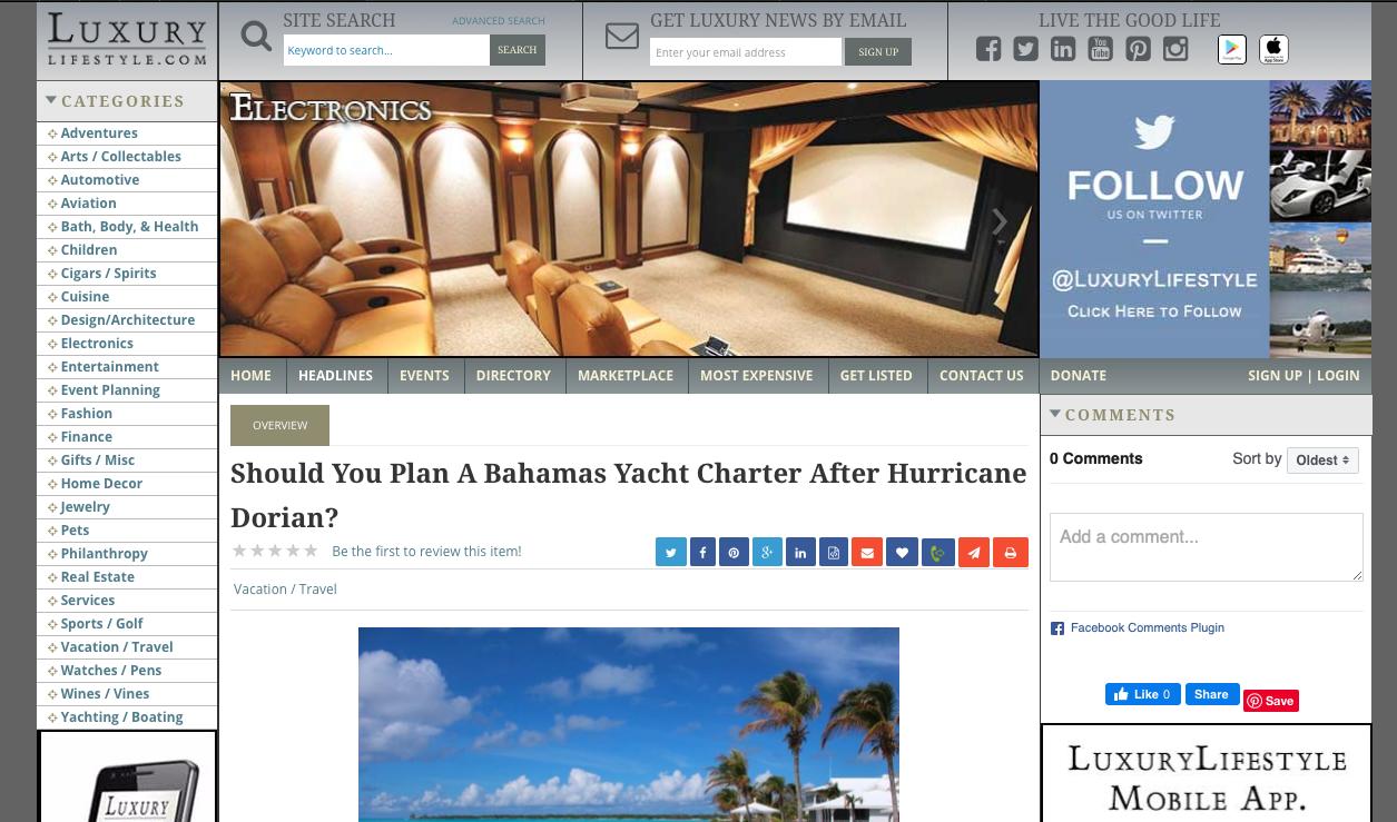 Should You Plan A Bahamas Yacht Charter After Hurricane Dorian?