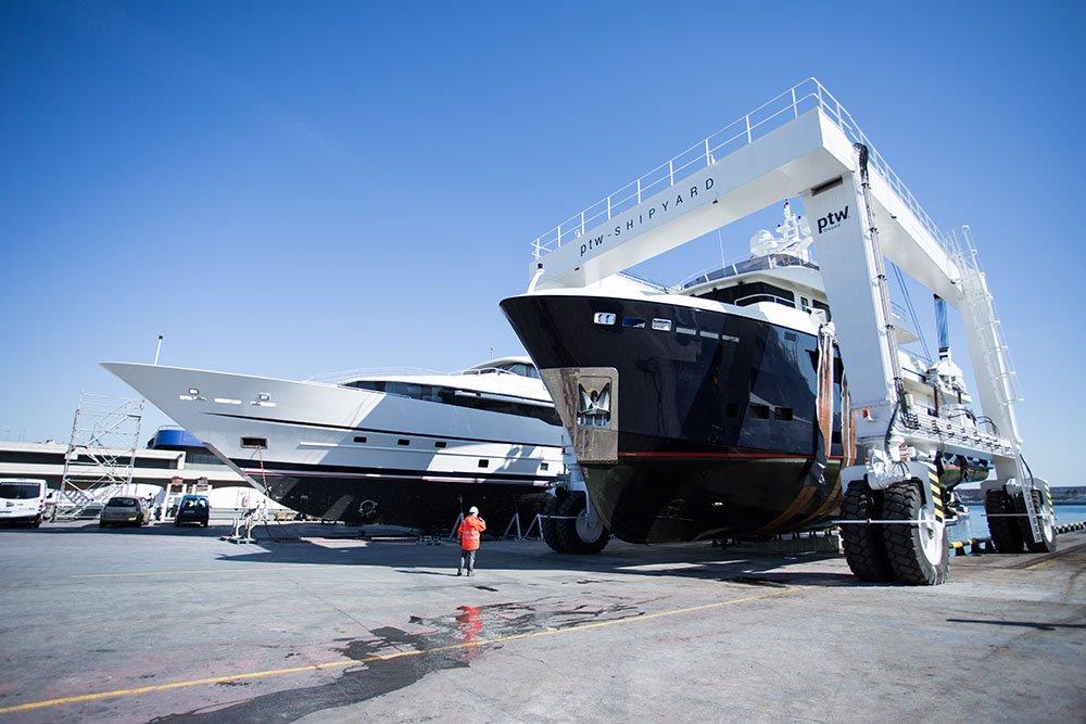 PTW Shipyard & Port Tarraco Superyacht Crew Event