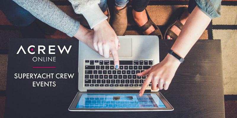 ACREW Online: Superyacht Crew Webinars