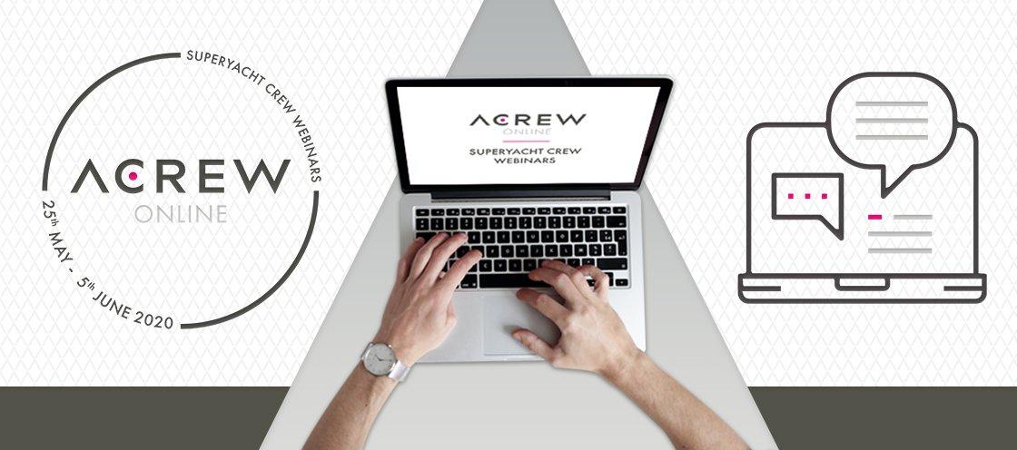 ACREW Online: Webinars for Superyacht Crew