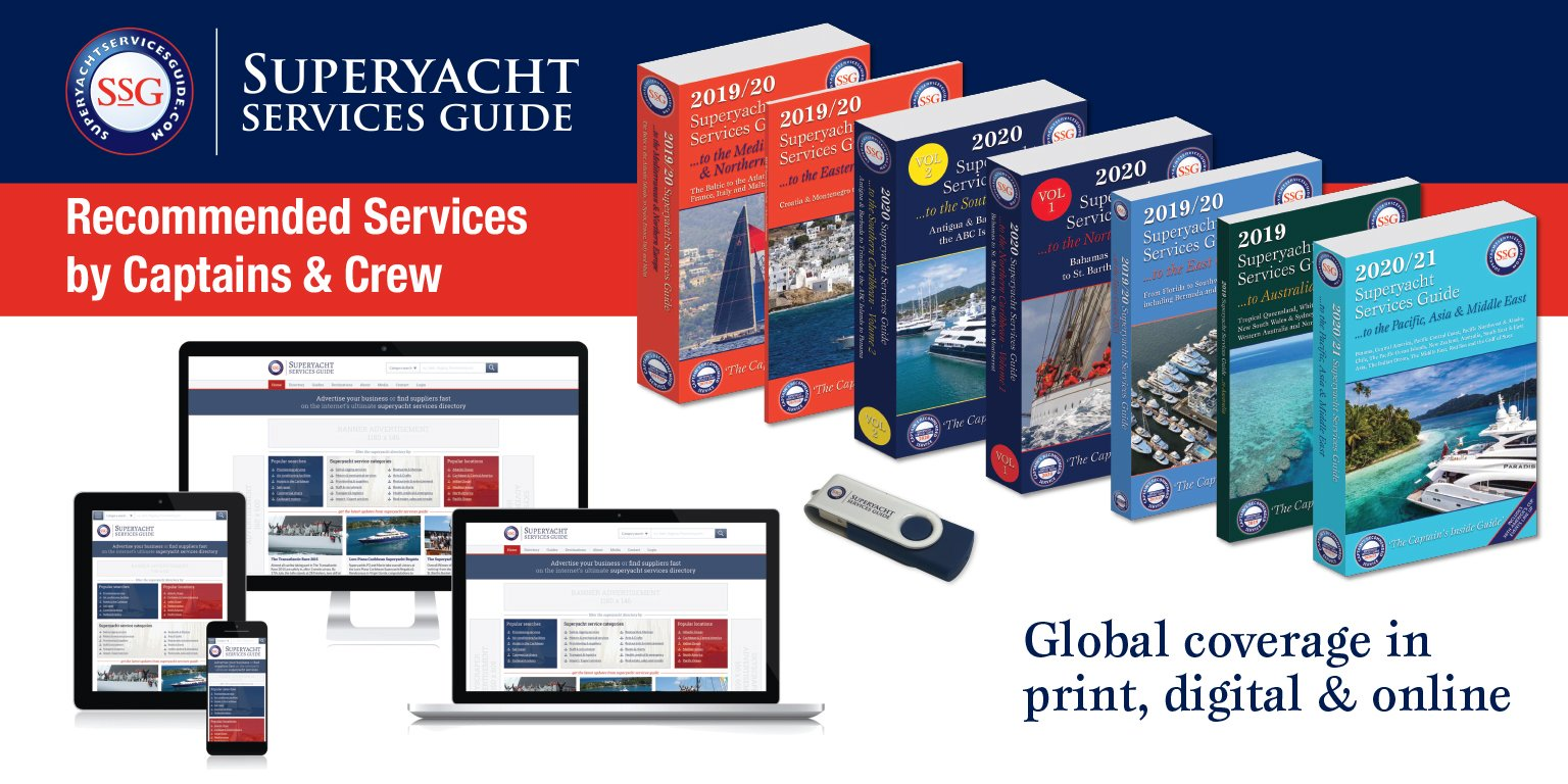 Superyacht Sevices Guide – The guidebook you need wherever you are out on sea!