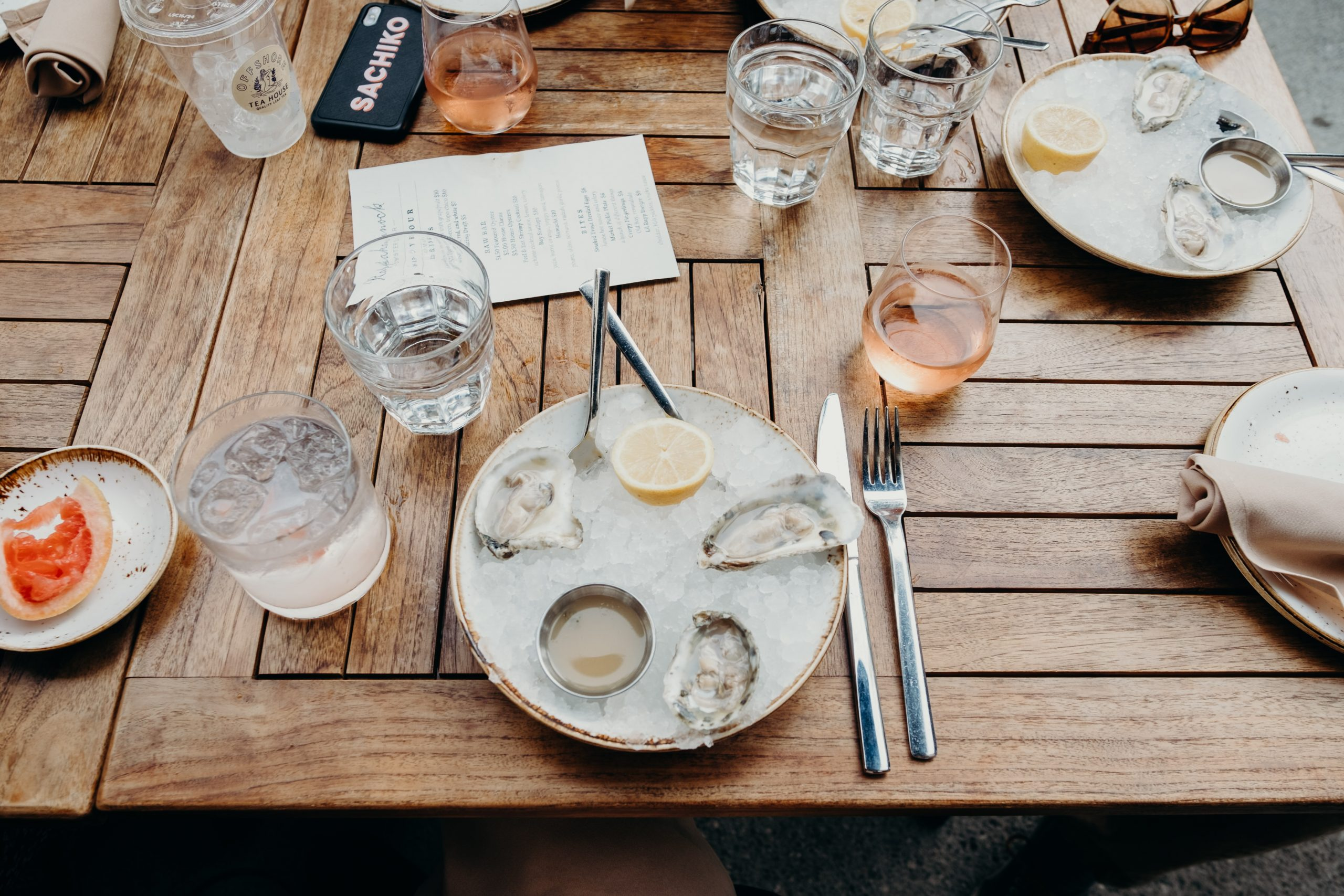 Top 6 Places To Have a Rosé Lunch With Your Crew!